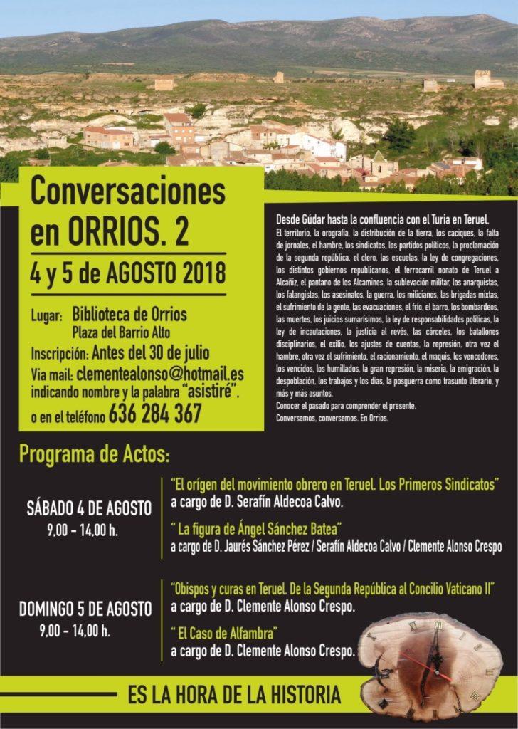 CONVERSACIONES EN ORRIOS @ ORRIOS TERUEL