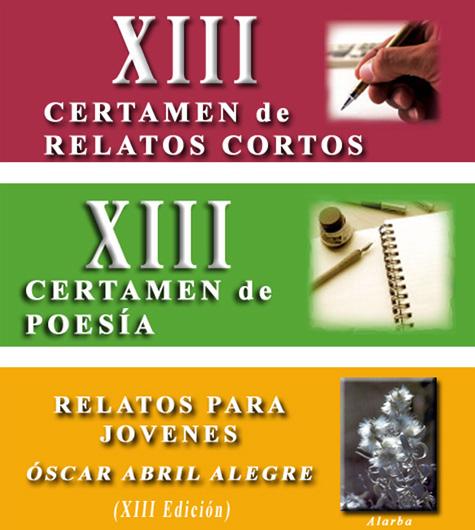 XIII CONCURSO LITERARIO @ ALFAMBRA