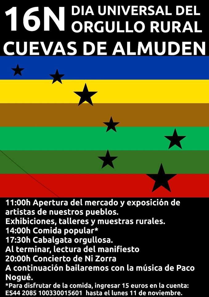 Dia del Orgullo Rural @ Cuevas de Almuden